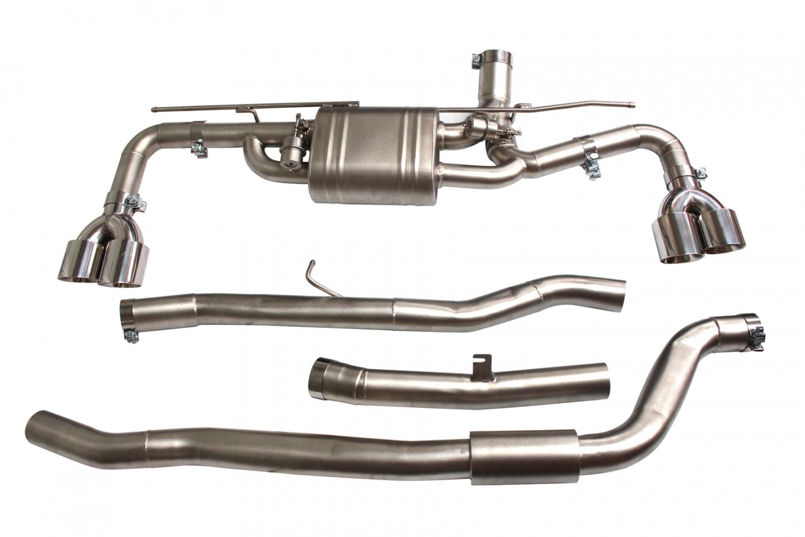 Aktywny układ wydechowy CatBack BMW G38 525/528/530/540 2.0T/3.0T 17+ - GRUBYGARAGE - Sklep Tuningowy